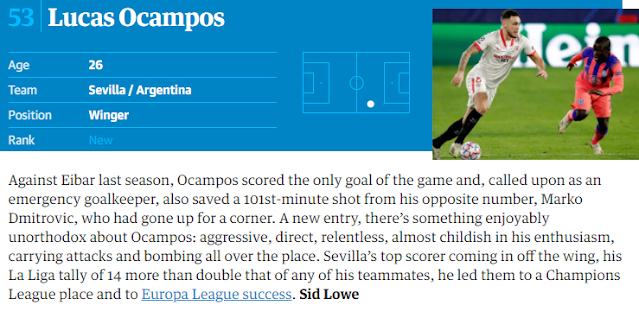 Ocampos The Guardian