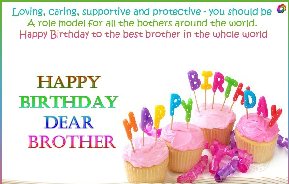 Cute Happy Birthday Quotes wishes for brother This Blog About – Birthday Card for My Brother