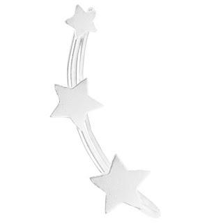 Earline oorbel ster