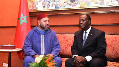 الملك محمد السادس يحل ب الكوت ديفوار في زيارة خاصة