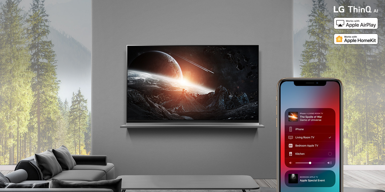 LG Rolls Out Apple AirPlay 2 In U S  On 2019 LG OLED, LG NanoCell 4K