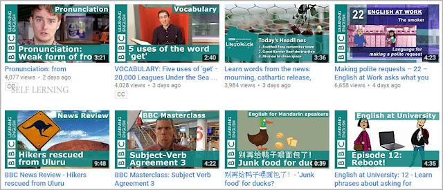 قناة بي بي سي BBC Learning English