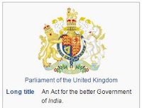 Government of India Act 1858,2 Aug 1858