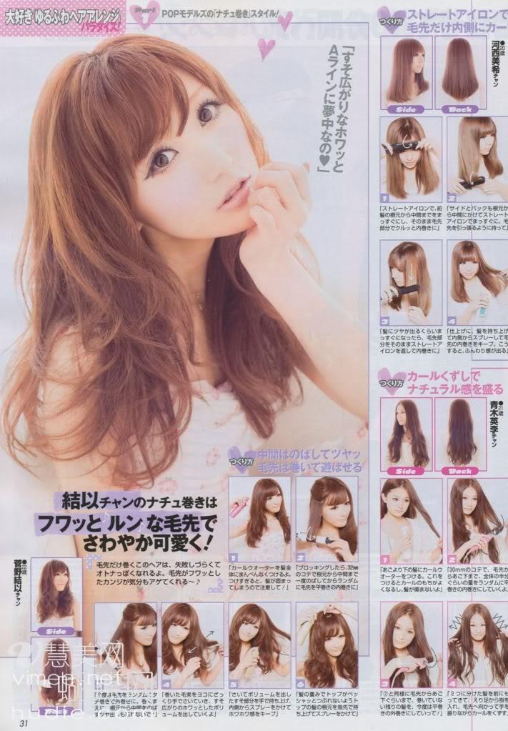 Easy hair tutorials on gyaru blog hellolizziebee