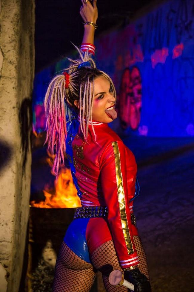 As cosplays mais bonitas e perfeitas da Arlequina