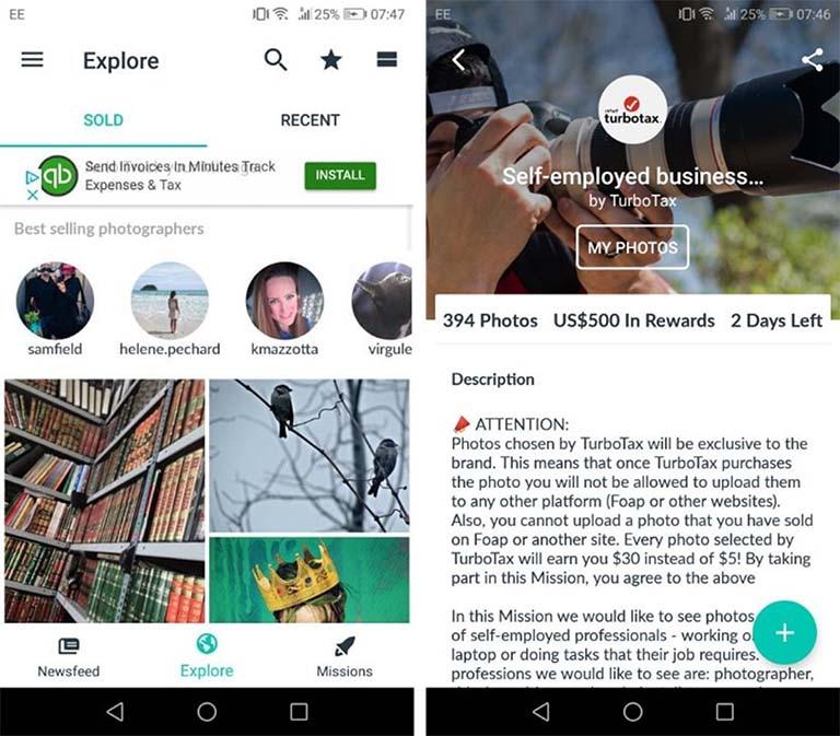 Lewat Aplikasi Foap, Kamu Bisa Mendapatkan Uang dari Foto Jepretan Kamera Ponsel