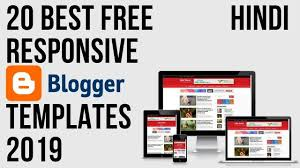 20 best Free responsive blogger template 2019