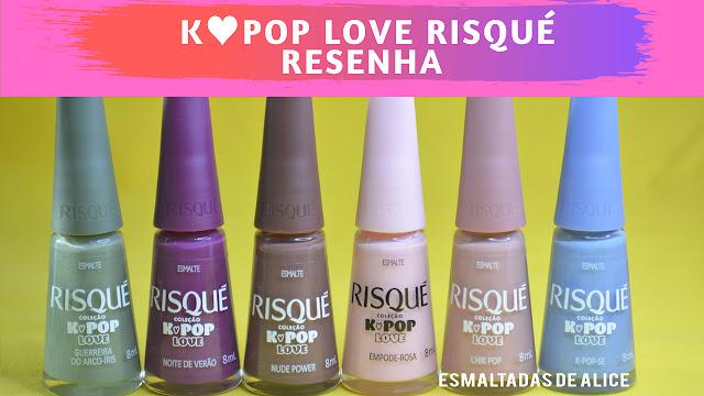 Coleção K-Pop Love Risqué