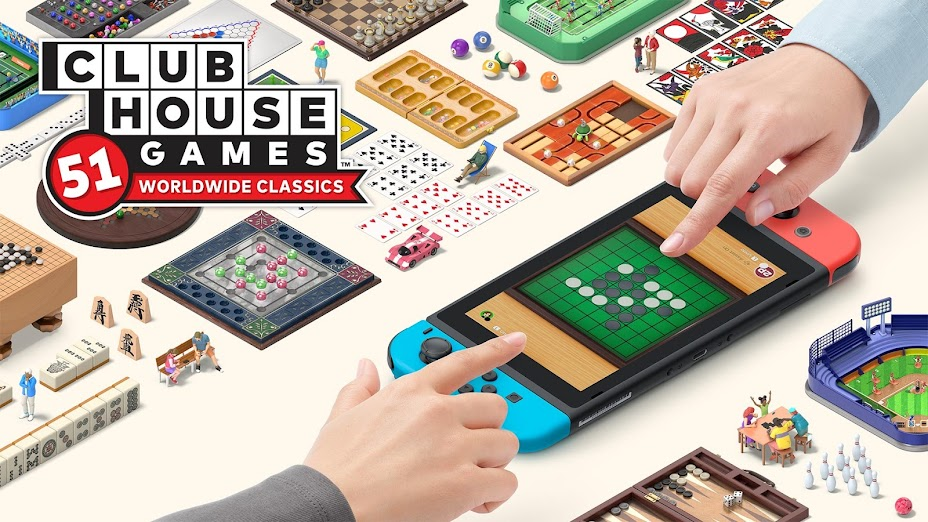 Clubhouse Games: 51 Worldwide Classics: Games from all over your Switch!