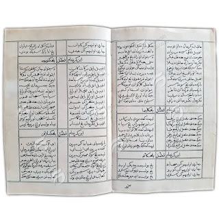 Salinan Naskah Asli Gurindam Dua Belas Karya Raja Ali Haji 2