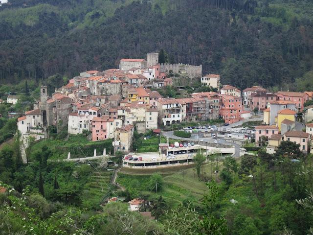 Ameglia a Hill town in Liguria, Italy