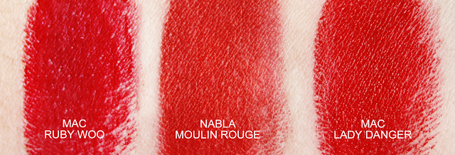 Nabla Moulin Rouge Swatch