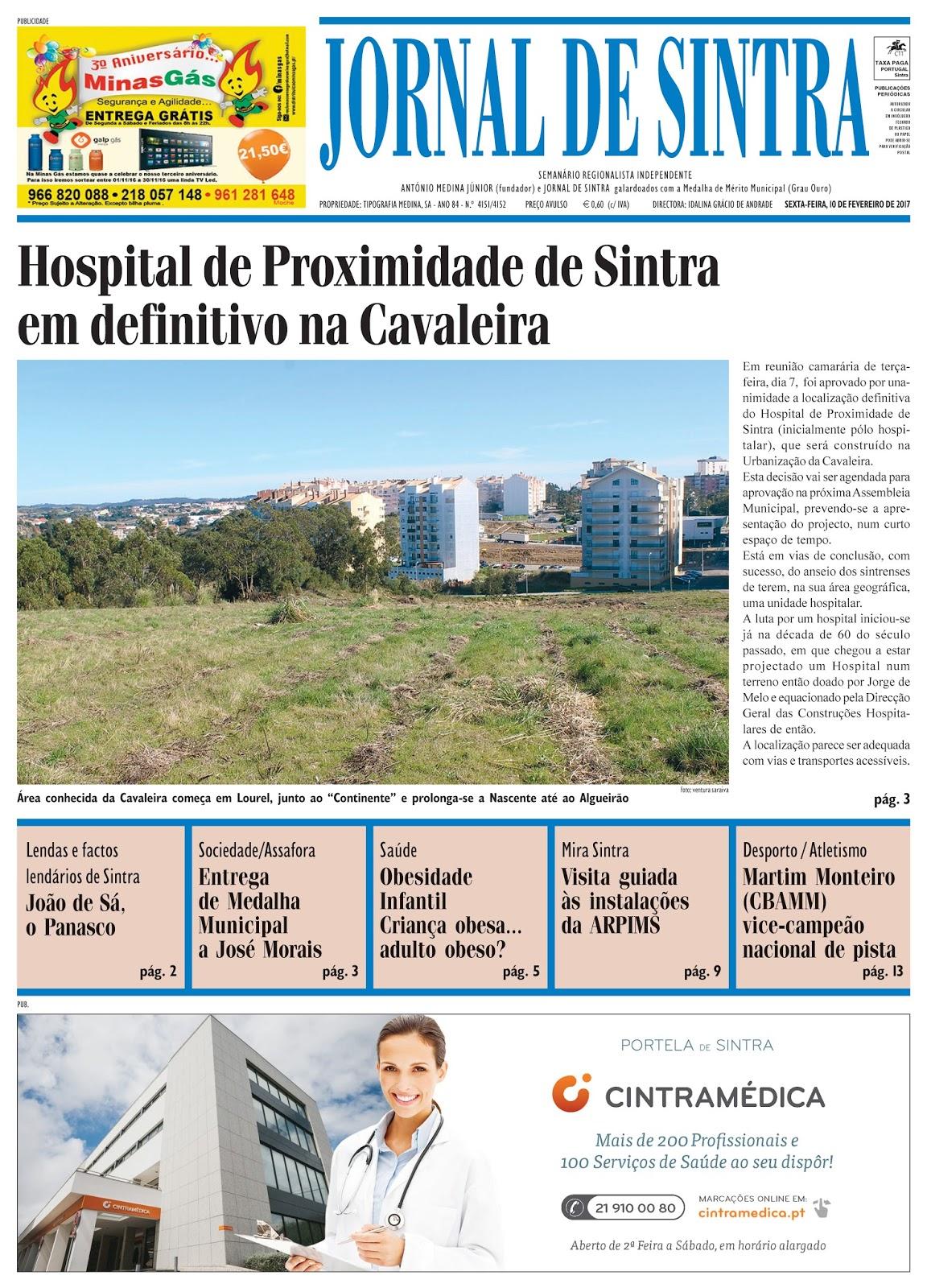 Capa da edição de 10-02-2017