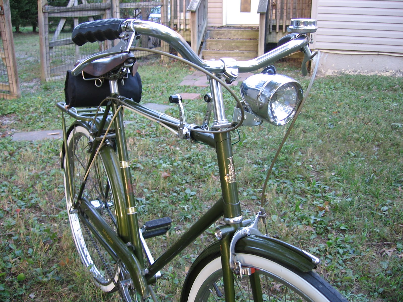 The Bike Shed 1970 Raleigh Sprite 5 Speed Continued