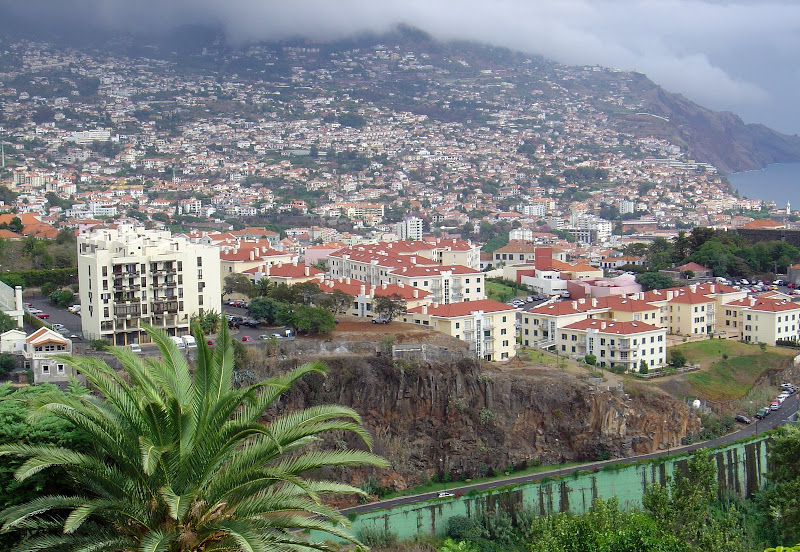 partial view to Funchal city