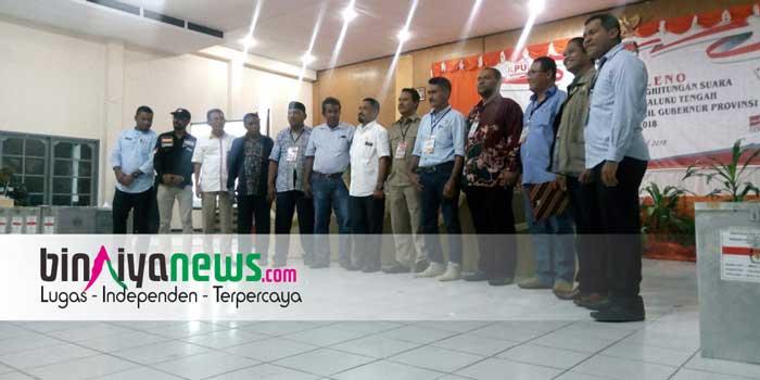 Ini Hasil Pilgub Maluku, pada 18 Kecamatan di Kabupaten Maluku Tengah