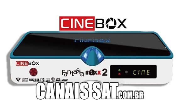 Cinebox Fantasia Maxx 2 Dual Core Atualização - 31/05/2021