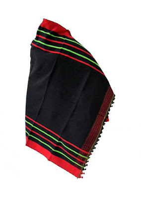Angami Naga men traditional shawl