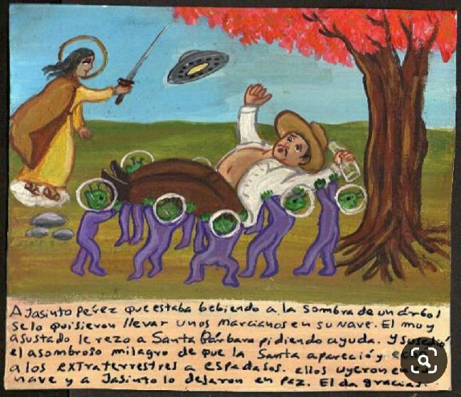 exvotos extraterrestres mexicanos