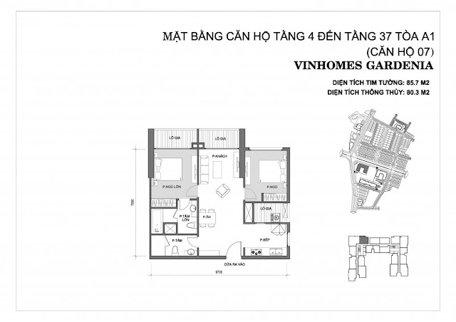 07 - Tòa A1 Vinhomes Gardenia