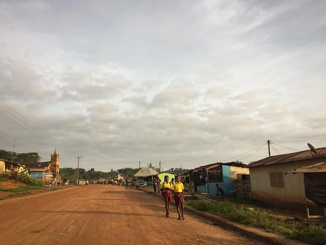 On the way to Kakum National Park, Ghana
