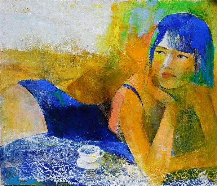 Цвет и композиция. Молдавский художник.