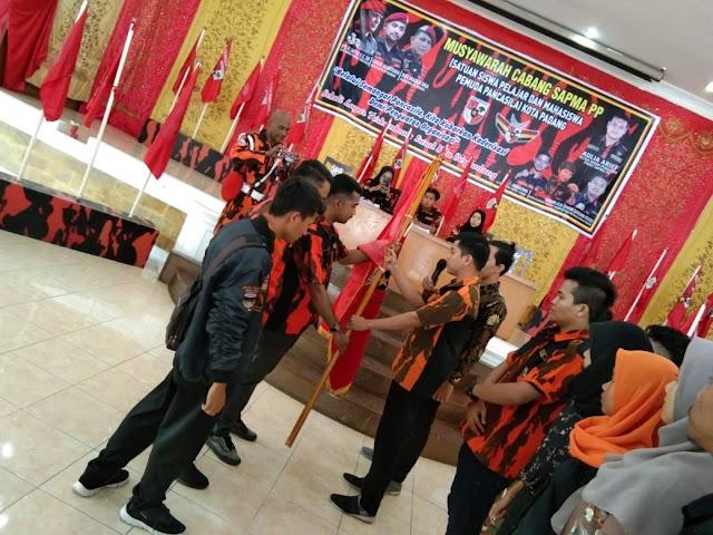 SAPMA Pemuda Pancasila Kota Padang Gelar Musyawarah Cabang ,Habib Firdaus Pimpin Sapma Padang Periode 2020-2022