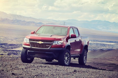 First Drive: Chevrolet Colorado ZR2
