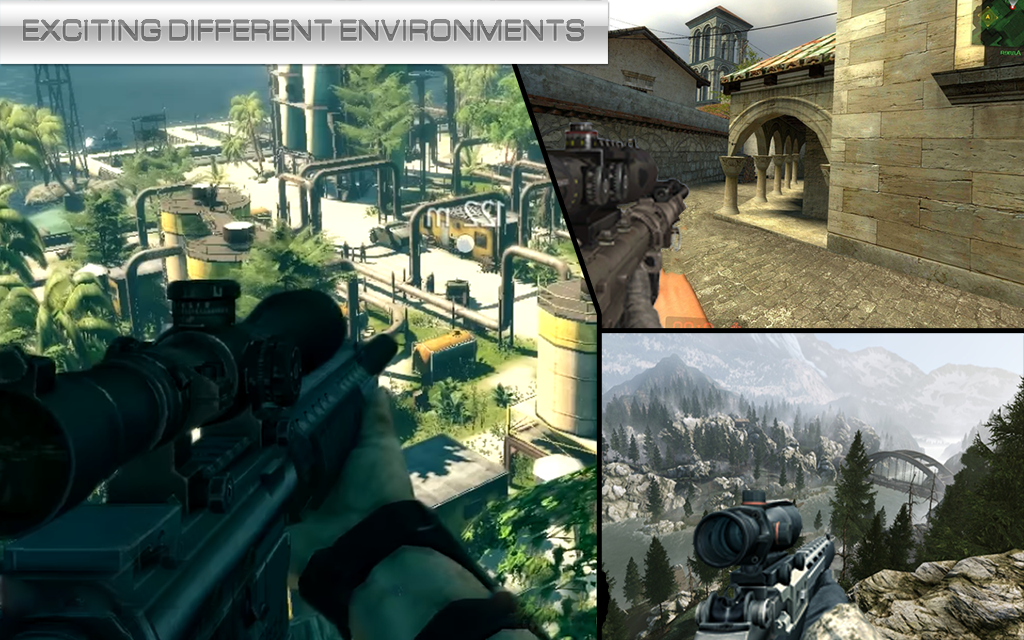 Sniper Fury Assassin Killer 3d Gun Shooting Games Mod Apk