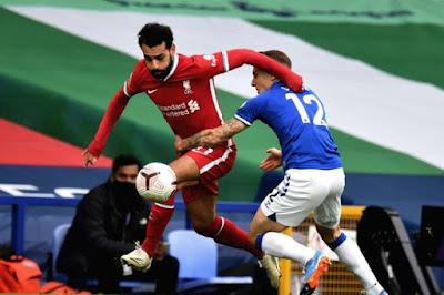 ملخص واهداف مباراة ليفربول وايفرتون (2-2) الدوري الانجليزي