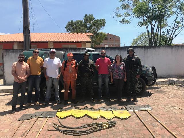 Cippa Lençóis doa equipamentos de combate a incêndios na Chapada Diamantina
