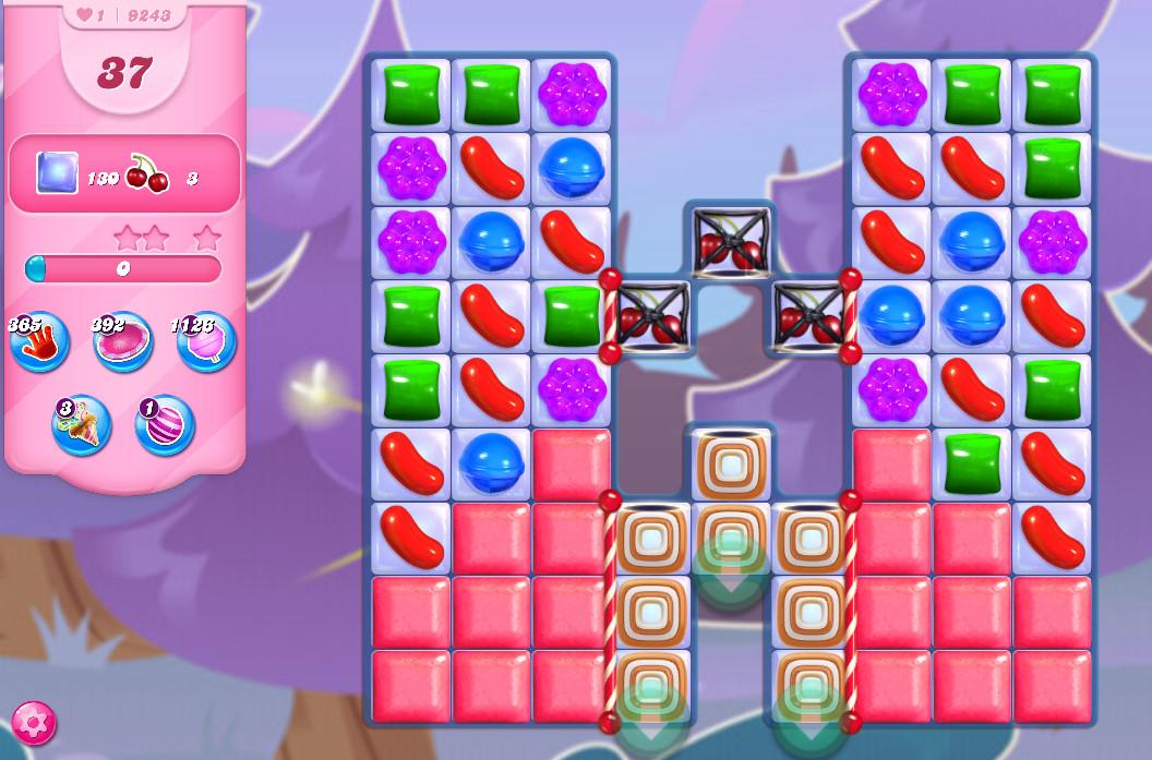 Candy Crush Saga level 9243