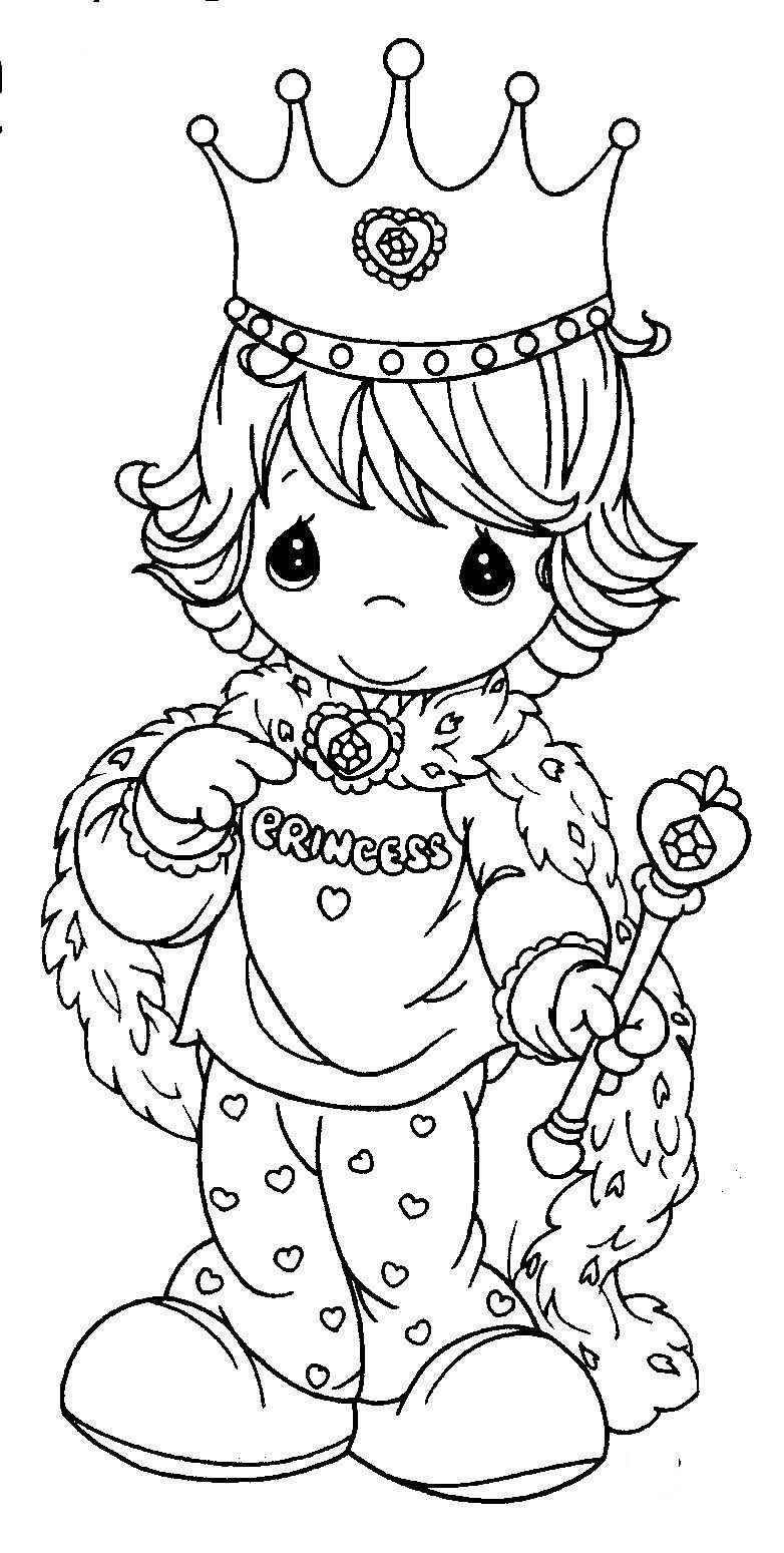 precious momemts coloring book pages - photo#43