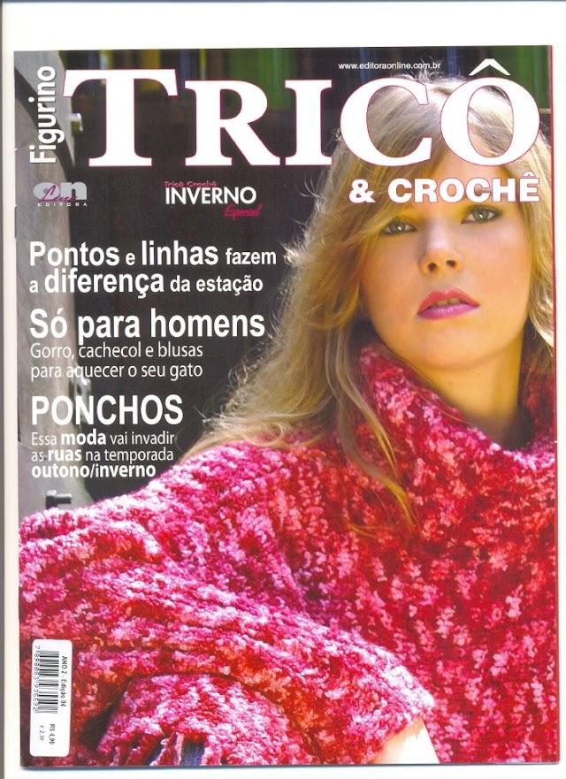 Figurino Tricô e Crochê-Revista Completa