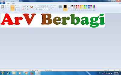 Merubah File JPG, JPEG, PNG, TIF ke Bitmap / .bmp dengan Paint di Windows