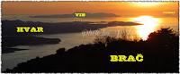 otok Hvar Vis Svetac slike Brač Online