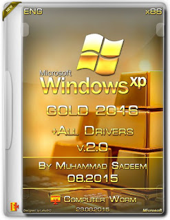 Windows XP Gold Edition SP3 2016