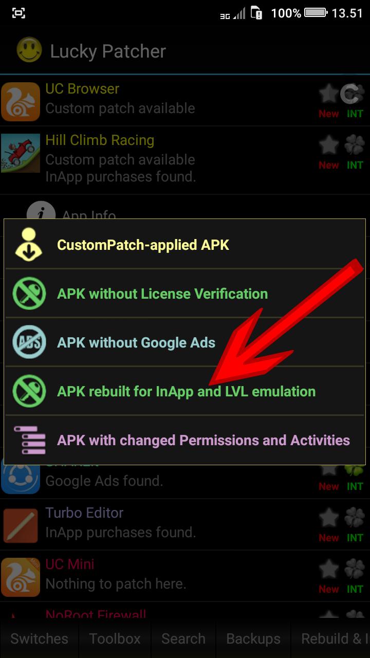 برنامج تهكير الألعاب للأندرويد Lucky Patcher Apk 7.5.3 Apk + Mod for Android