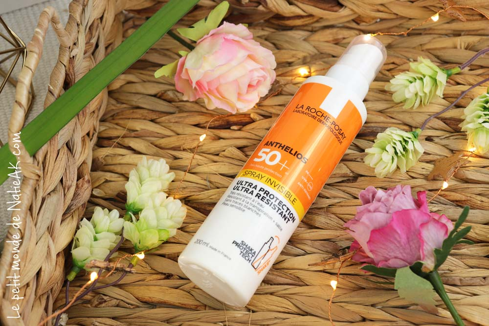 La Roche-Posay Anthelios 50+  spray invisible protection solaire