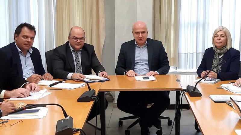 Συνάντηση Μέτιου - Τσάκα για την επιτάχυνση υλοποίησης του έργου Φυσικού Αερίου στην Περιφέρεια ΑΜ-Θ