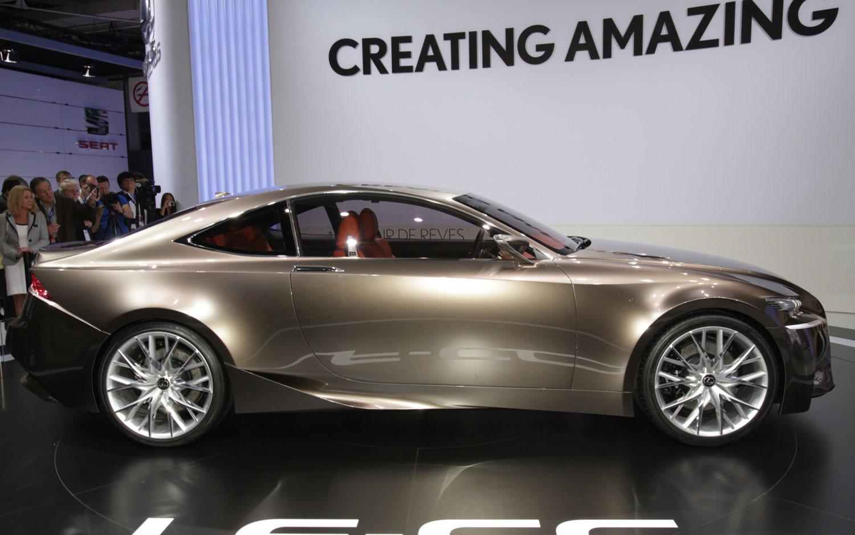 Cars Model 2013 2014: Lexus LF-CC Concept First Look