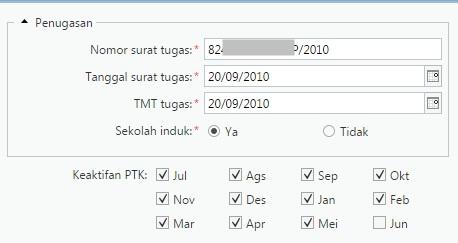 Update Keaktifan PTK di Bulan Mei 2016