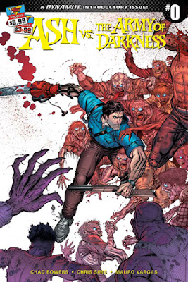 Ash vs The Army of Darkness, cover n.0