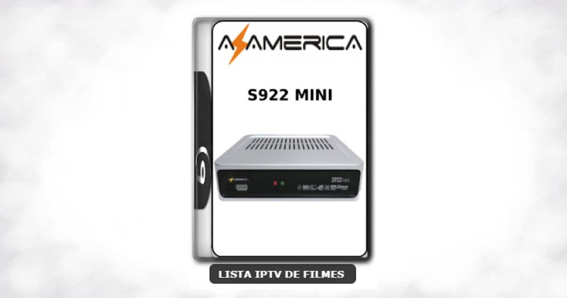 Azamerica S922 Mini Nova Atualização Modificada SKS 61w ON