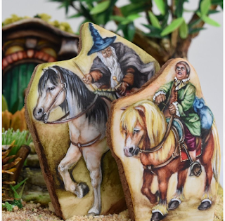 Gandalf et Bilbo - Silviya Jankowski - Bicky Piccy