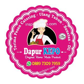 Download Desain Stiker Label Makanan CDR ~ Warna pink