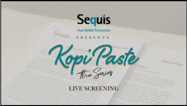 "Web Series Sequis ""Kopi PAste"" Live Screening"