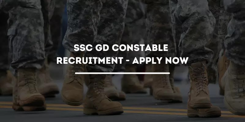SSC GD Constable Recruitment 2021 For 25271 Various Vacancy - Apply Now