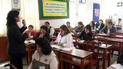 Aumento de sueldos a profesores MINEDU