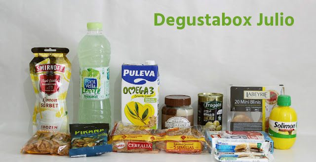 Degustabox julio 2016